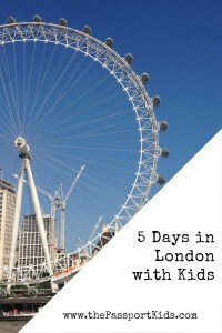5 Days in London with Kids