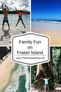 Family Fun on Fraser Island
