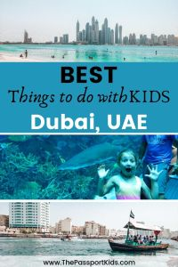 Find out the Top 10 Things to do in Dubai with Kids. Including Burj Khalifa, Dubai Mall, Gold Souk, Spice Souk, Dubai Creek, desert safari, Palm Jumeirah Island, and more fun activities in Dubai for kids. Get all the best places to visit in Dubai for your next family vacation. #dubai #uae #burjkhalifa #jumeirahpalm #dubaimall #dubaicreek #goldsouk #spicesouk