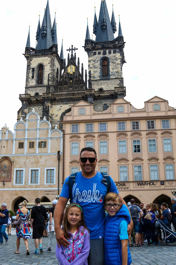 The best way to spend 2 days in Prague, Czech Republic! An easy Prague itinerary to help you explore Prague in 48 hours with kids. Including a Map of all the best places to see like Charles Bridge, Prague Castle, Old Town Square, Astronomical Clock, Lesser Town, Wenceslas Square and more! #prague #CzechRepublic #charlesbridge #praguecastle #astronomicalclock #vitus #wenceslassquare #oldtownsquare