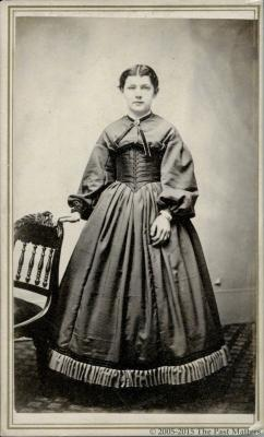 Ida Adaline Thompson about 1862