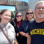 Exploring Fort Mackinac on Vacation