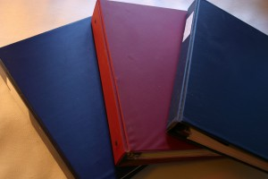 Binders for Organization