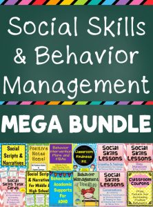 Social Skills & Behavior Management Mega Bundle
