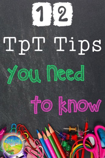 12 TpT Tips You Need to Know