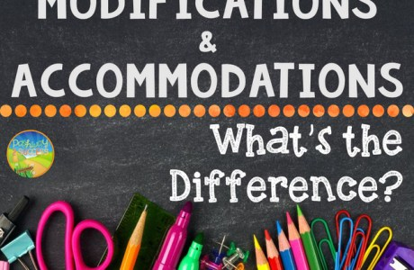 Modifications and Accommodations.. What's the Difference?