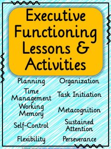 Executive Functioning Lessons