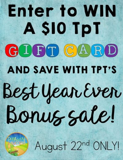Win TpT Gift Card