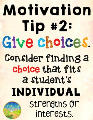 Give Choices