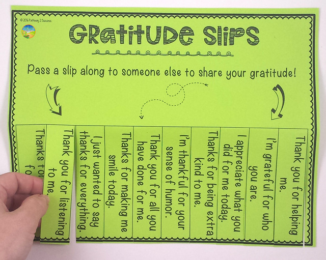 Teaching Gratitude to Kids and Young Adults