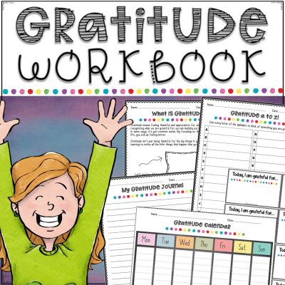 Learn strategies to practicing gratitude with kids and young adults to help improve their confidence, happiness, and ability to manage emotions on the spot. Practicing gratitude is a fun and healthy activity for students of all levels and abilities! #gratitude #pathway2success