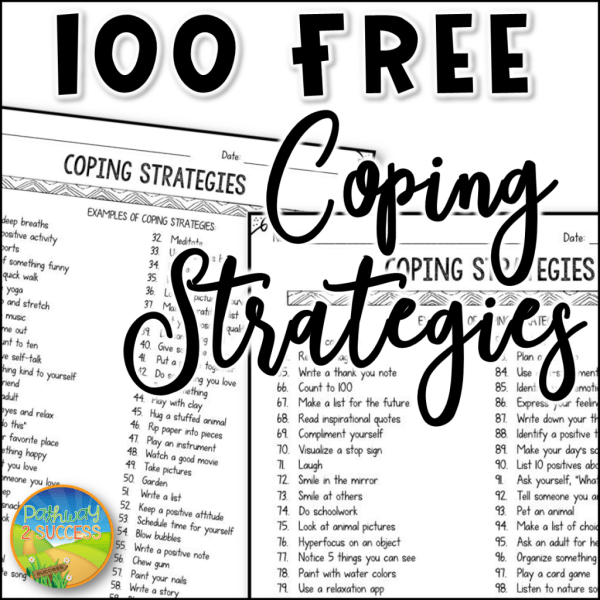 Teaching Teenagers To Cope With Social >> 100 Coping Strategies For Anger Anxiety And More