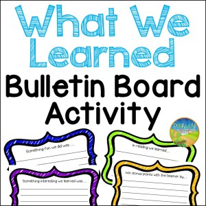 What We Learned Bulletin