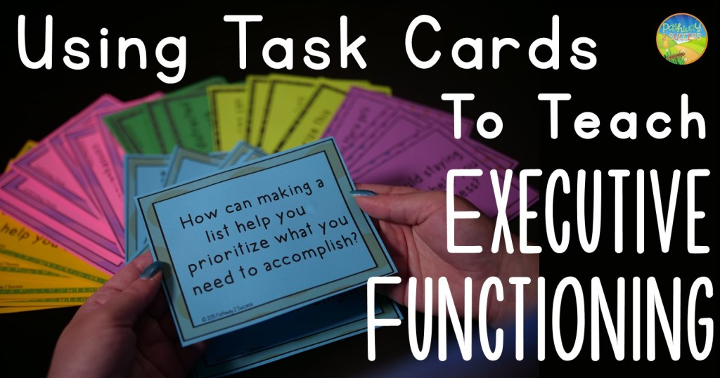 Teaching executive functioning skills to kids and young adults. Strategies focus on skills including attention, planning, organization, time management, and more. #executivefunctioning #studyskills