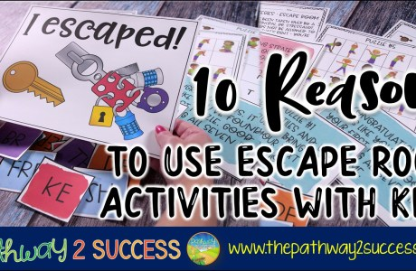 10 Reasons to Use Escape Room Activities