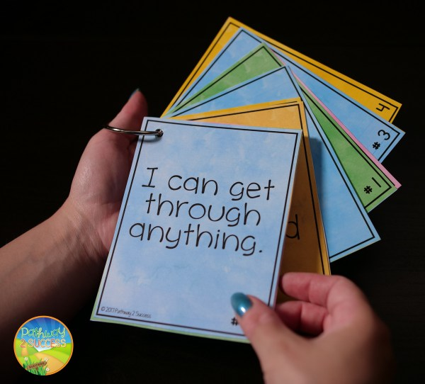Positive Self Talk Task Cards