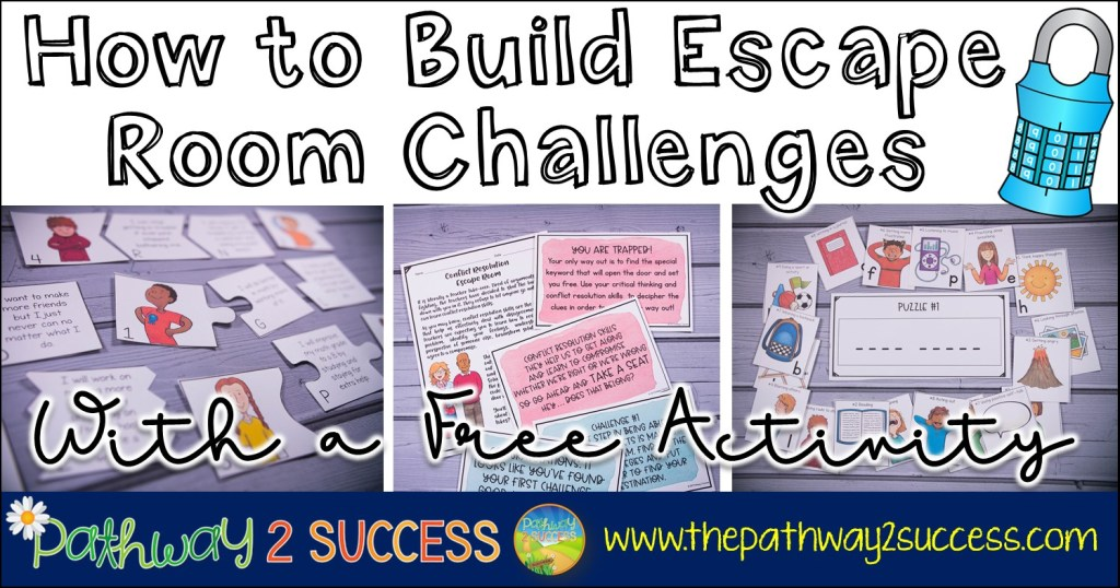 How to build your own DIY escape room challenges for kids and young adults with a free activity. These are the perfect challenges and puzzles to teach kids critical skills in a fun and interactive way.