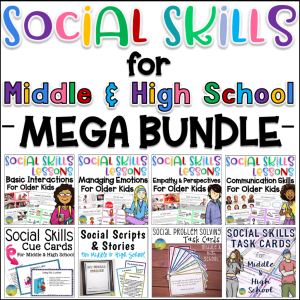 Use these strategies, activities, and ideas to help kids and young adults learn critical social skills in a meaningful way! Even middle and high school kids need real practice with social skills.