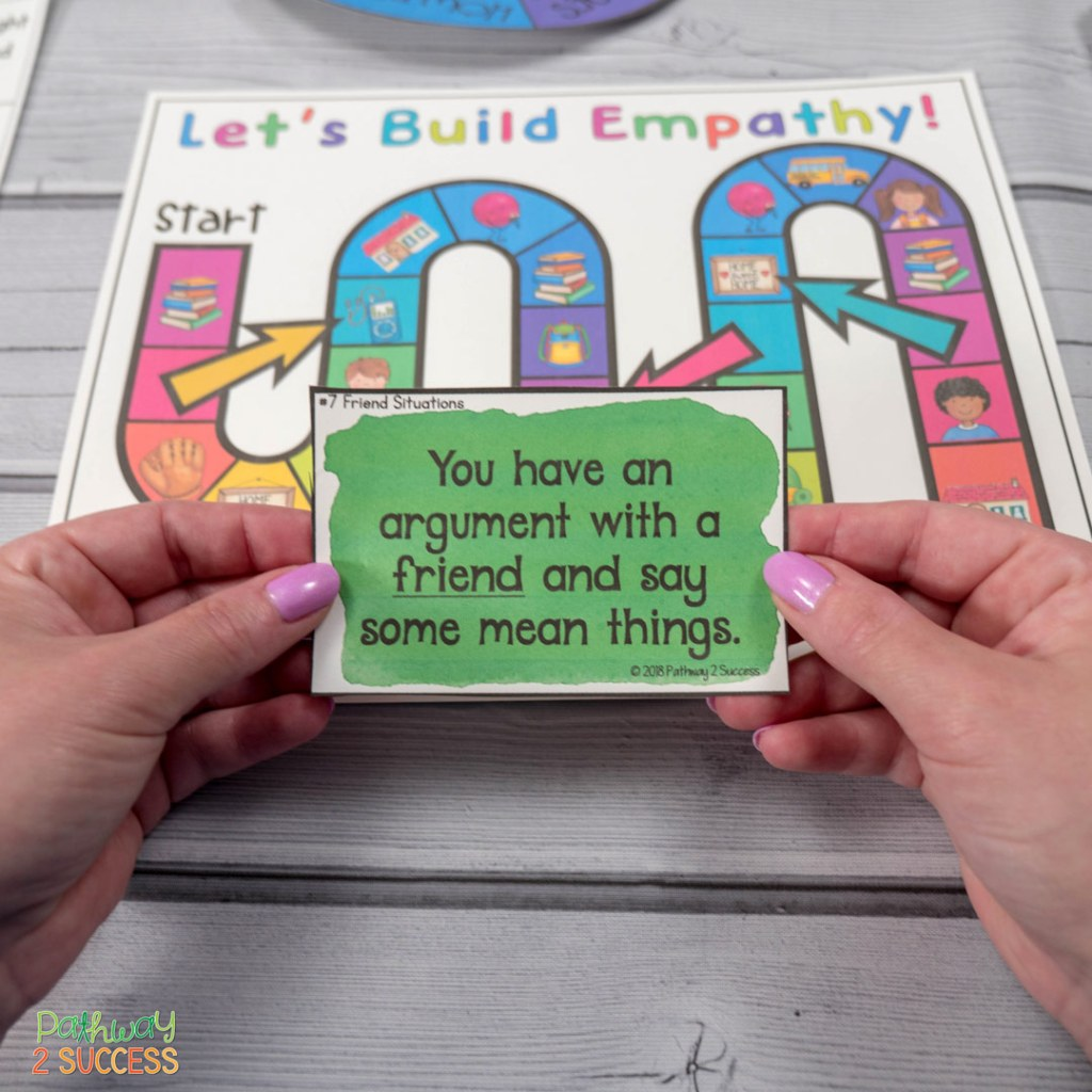 Games to teach social emotional learning skills, including social problem solving, communication, empathy, and more. Games are a fun and interactive way to teach kids and young adults SEL skills! Perfect for small groups, morning meeting, or break time. #socialskills #socialemotionallearning #pathway2success