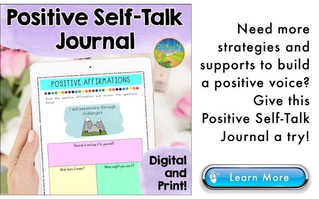 positive self-talk journal