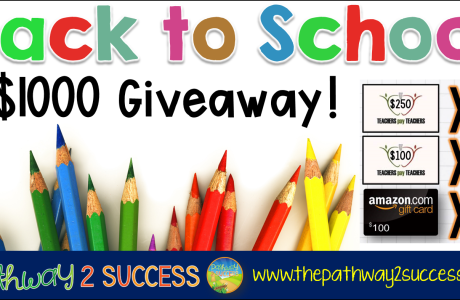 $1000 Back to School Giveaway!