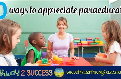 10 Ways to Appreciate Paraeducators