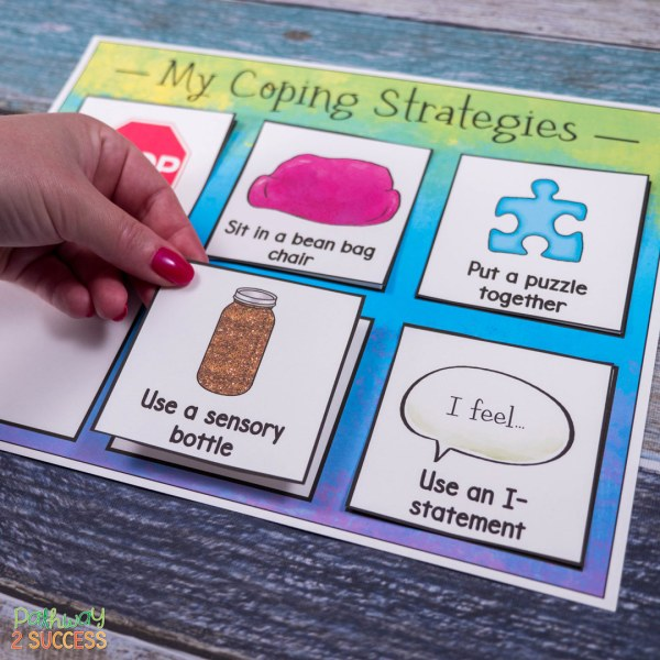 Strategies for kids and teens to help build self regulation skills, including fun and interactive games, books, mindfulness, calming strategies, and lessons. Teaching these skills for self-regulation and self-control can help students become more successful and gives them the tools they need. #selfregulation #selfcontrol #pathway2success