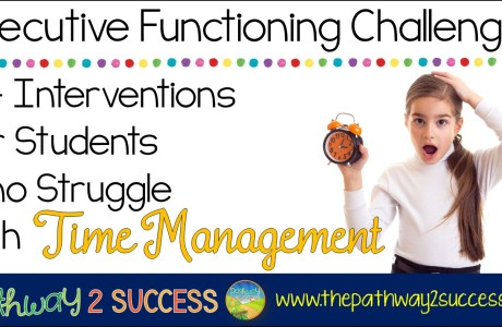 Interventions for Executive Functioning Challenges: Time Management