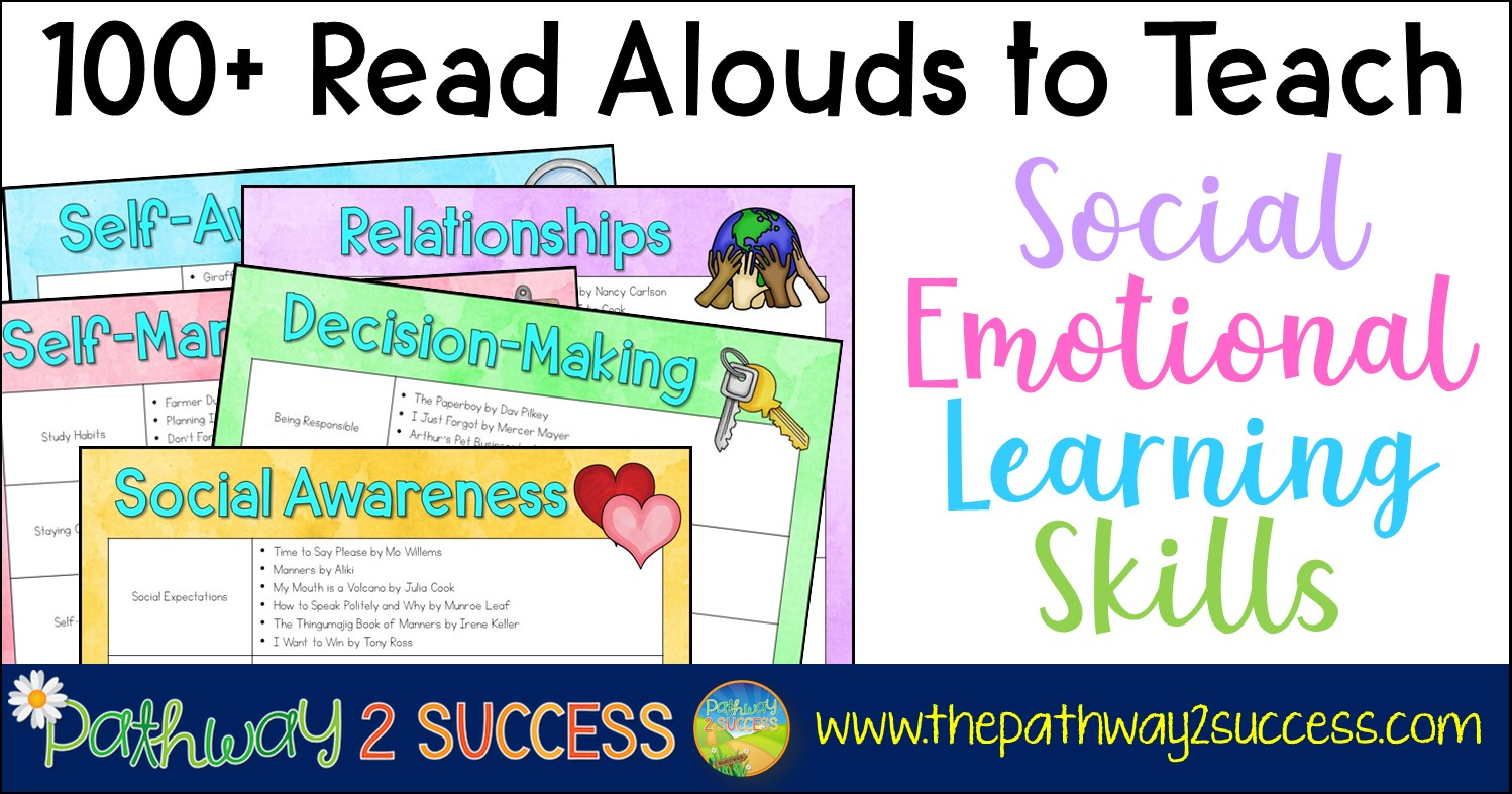 small resolution of 100+ Read Alouds to Teach Social Emotional Learning Skills - The Pathway 2  Success