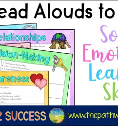 100+ Read Alouds to Teach Social Emotional Learning Skills - The Pathway 2  Success [ 787 x 1498 Pixel ]