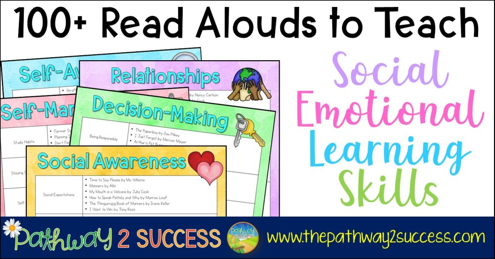 medium resolution of 100+ Read Alouds to Teach Social Emotional Learning Skills - The Pathway 2  Success
