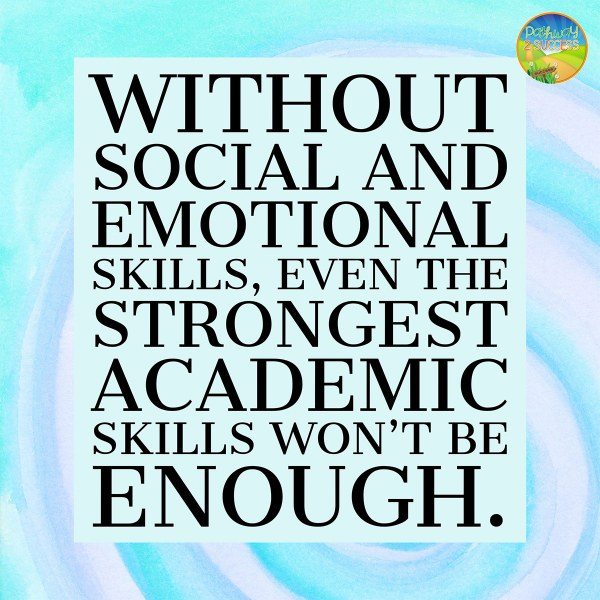 Social and emotional skills are more important than academics in the classroom! SEL has been found to increase student social and emotional well-being while also improving academic skills. Learn why every teacher should be teaching skills like empathy, conflict resolution, and decision-making skills! #sel #socialemotionallearning #pathway2success