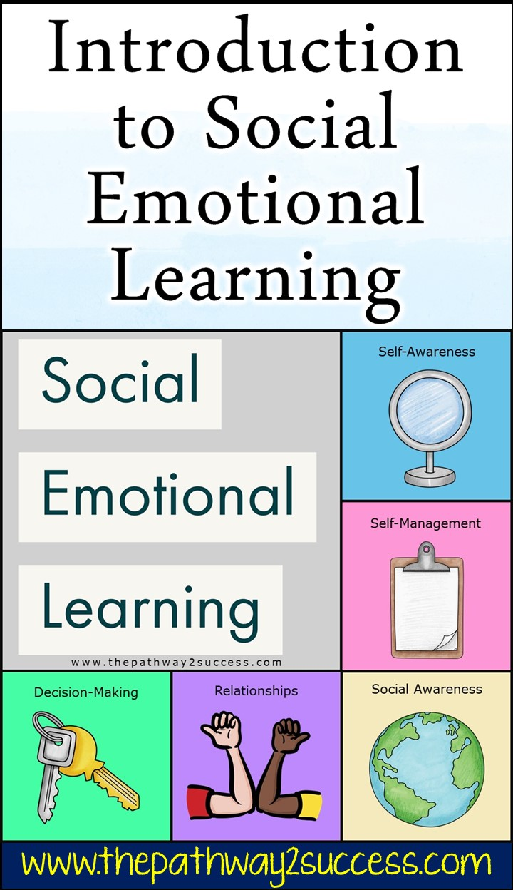 Understand the basics of social emotional learning and how it can help kids and young adults in the classroom. Read up on strategies, blog posts, and free printables you can use to teach SEL skills like empathy, decision-making, relationships, and problem-solving skills. #socialemotionallearning #pathway2success