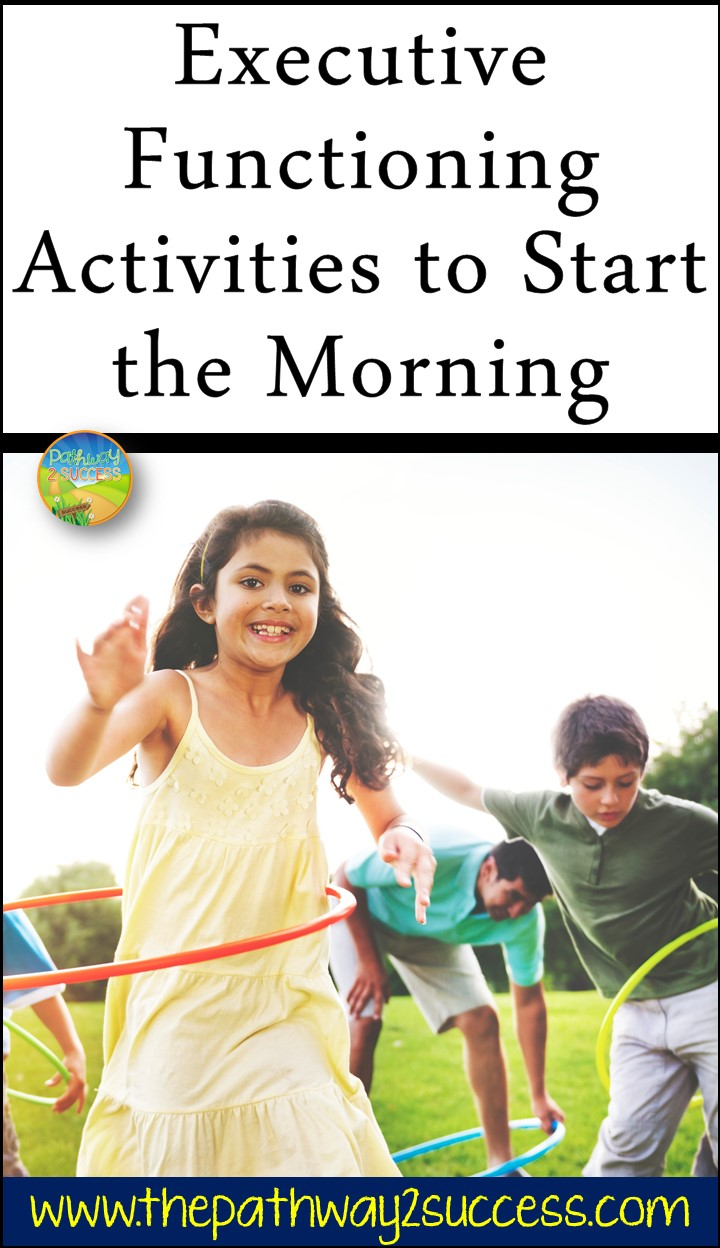 Use engaging and fun executive functioning activities to help jump start kids and teens in the morning. Simple activities like mindful breathing, brain games, journaling, and exercising, can help activate students' brains in the classroom. #pathway2success #executivefunctioning