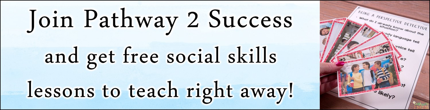 Strategies for teaching and practicing social skills with kids and teens. Educators and parents can use literature, integrate art activities, play games and more to teach about social and emotional skills that matter! #pathway2success