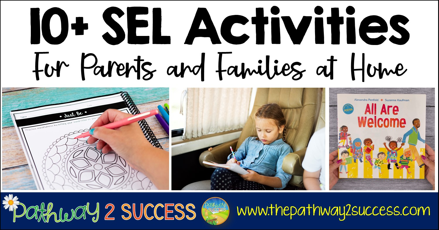 hight resolution of 10+ Social Emotional Activities for Home - The Pathway 2 Success