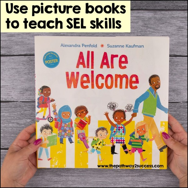 Over 30 fun and engaging ways to integrate social emotional learning skills for distance and virtual learning. This list includes lots of free digital resources, activities, ideas, and links to help teachers, educators, and parents build SEL skills while teaching remote or during homeschool. This list focuses on strengthening skills for building empathy, working through challenges, improving self-control, and much more! #pathway2success