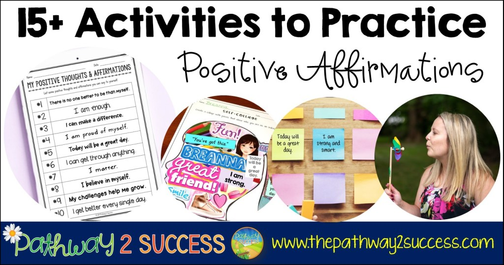 15+ Positive Affirmations Activities for Kids and Teens