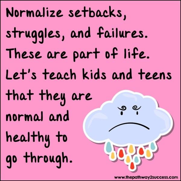 normalize setbacks