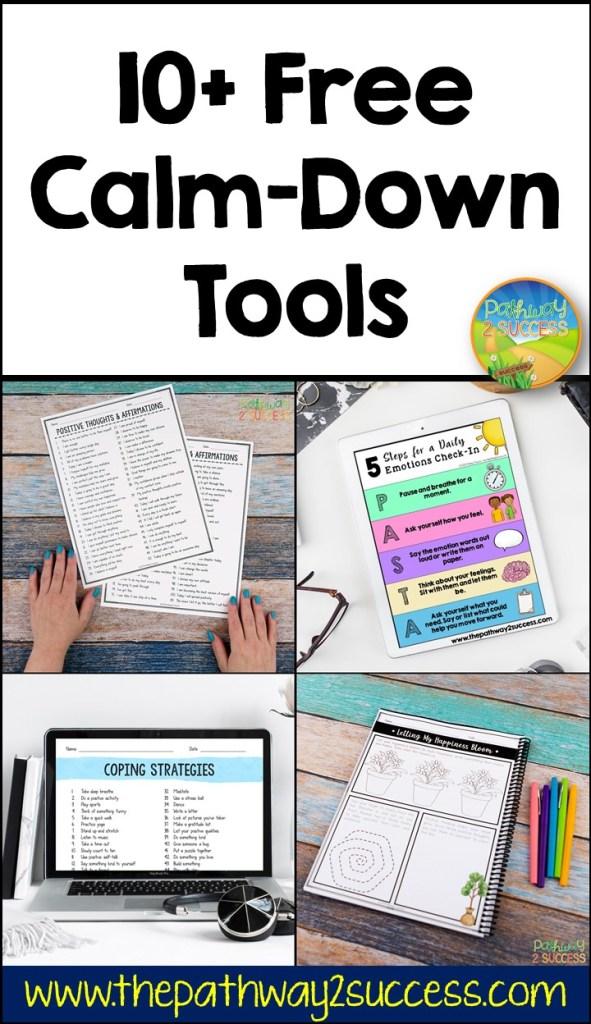 10 free calm down tools