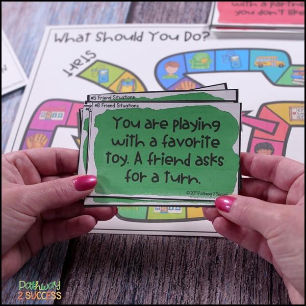 Social emotional learning board games