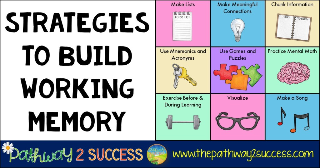 Strategies to Build Working Memory