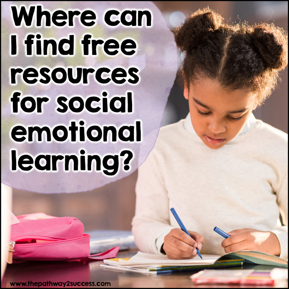free social emotional activities: Information for parents.