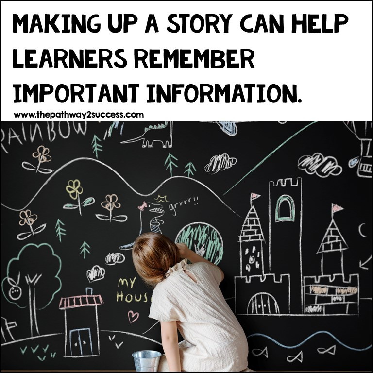 making a story can help with working memory skills