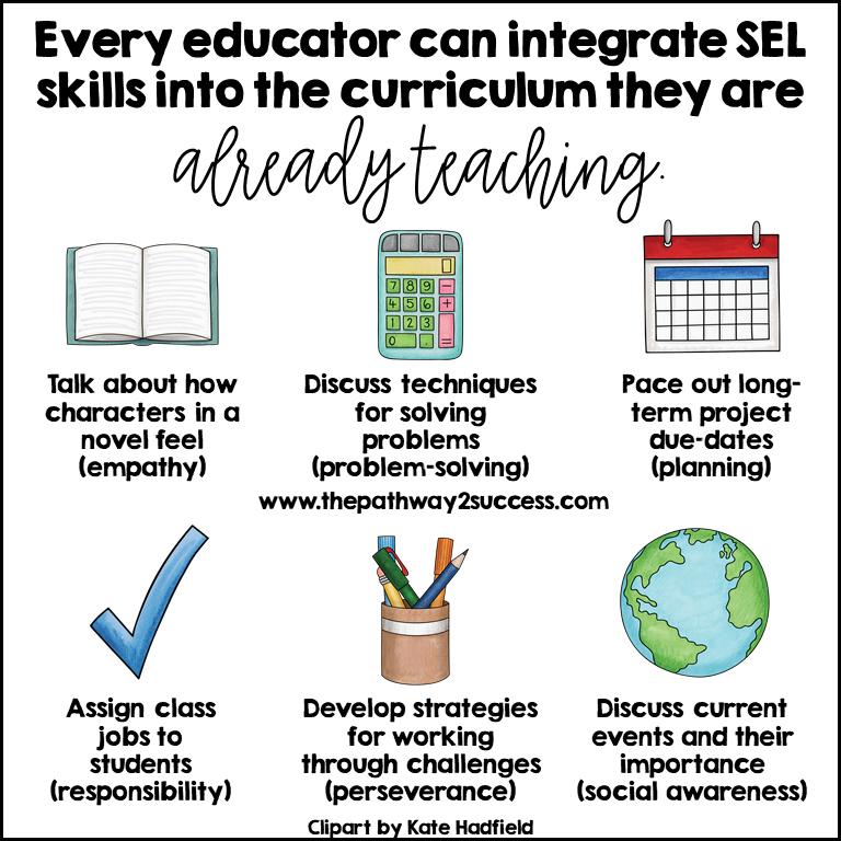 Integrate SEL Skills in the Curriculum