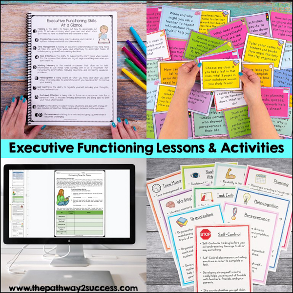 I developed a complete yearlong Executive Functioning Skills set to help learners build skills like planning, organization, time management, and perseverance. If you want to teach these skills but aren't sure how to start, give it a try.