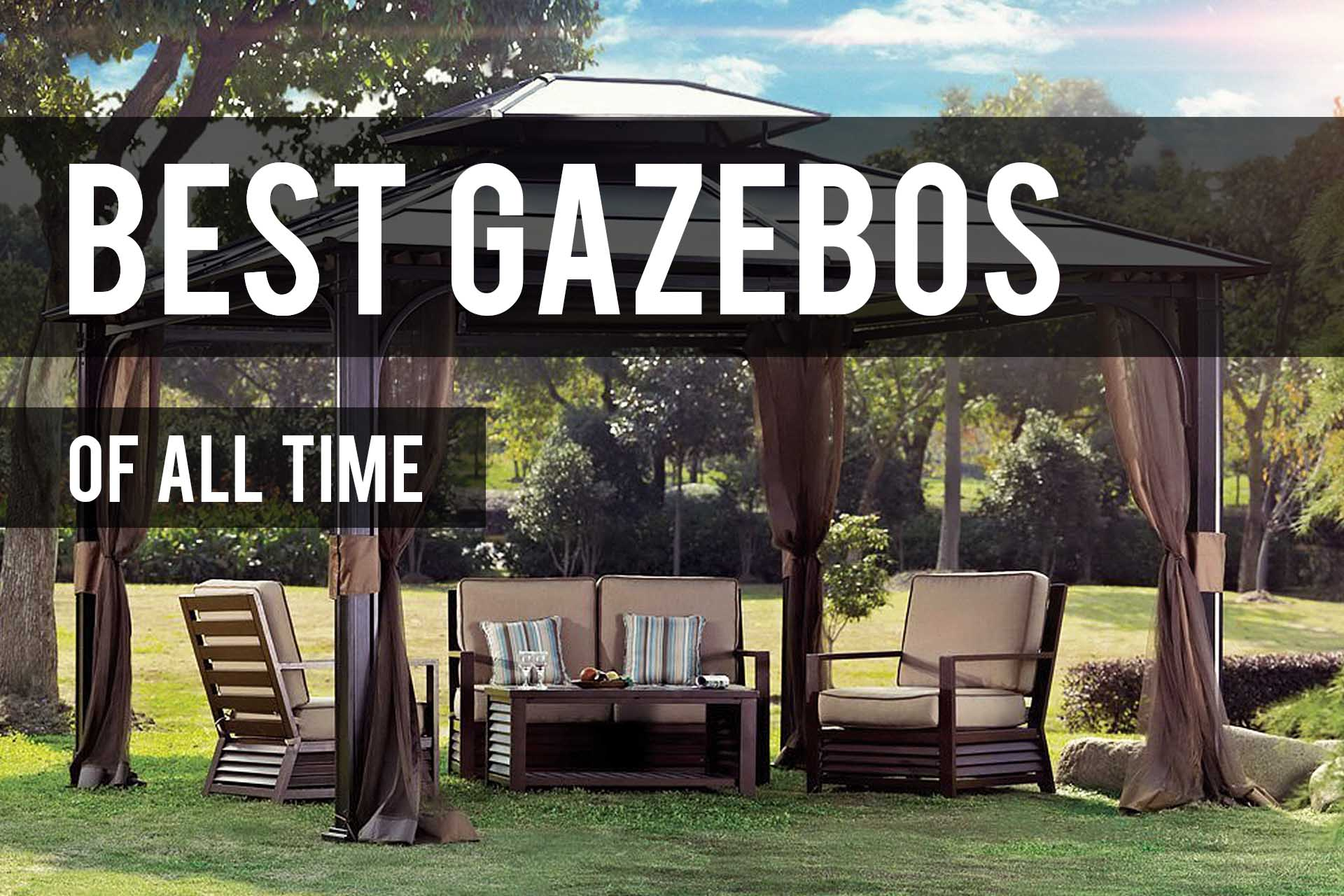 ... Gazebos Have Been Offering Us Big Shade, Stunning Looks And Comfort For  Centuries Like No Other Outdoor Structure Can. They Completely Revamp Your  Patio ...