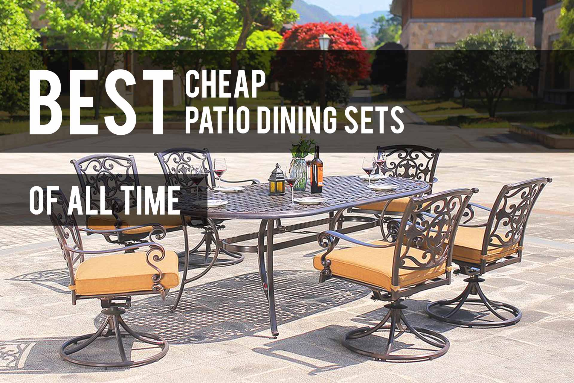Best Cheap Patio Dining Sets 2019 Reviews The Patio Pro