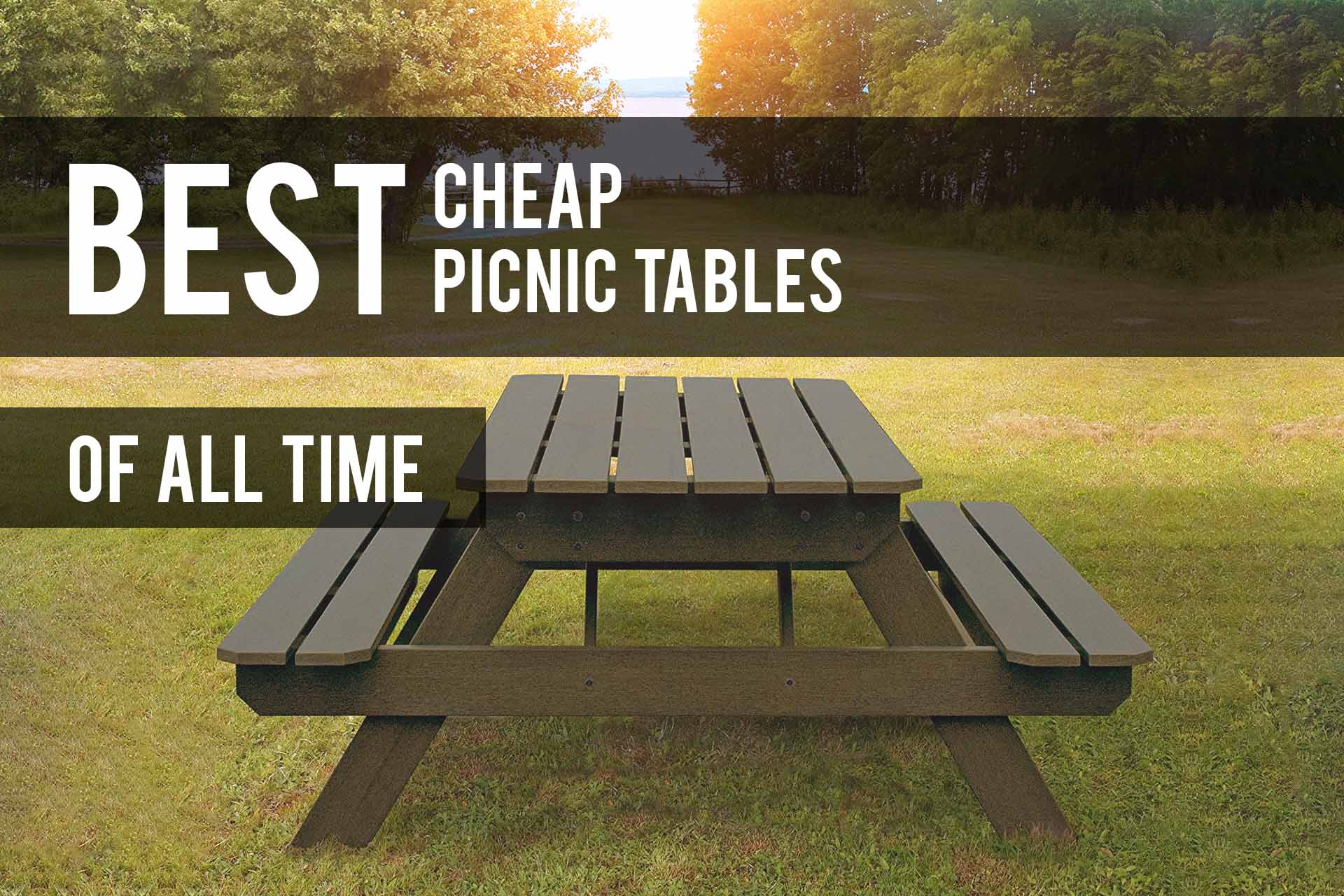 Groovy Best Cheap Picnic Tables 2019 Reviews The Patio Pro Customarchery Wood Chair Design Ideas Customarcherynet