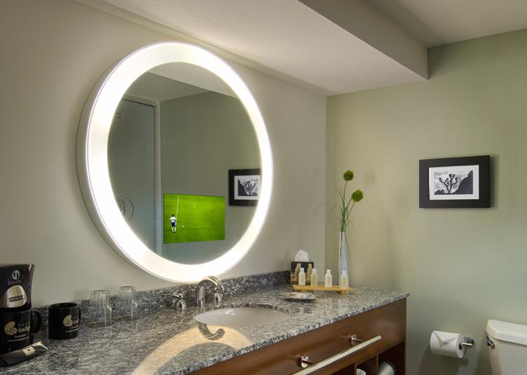 Radiance Electric MirrorTV  Bath  Spa  Peabody Hotel Store